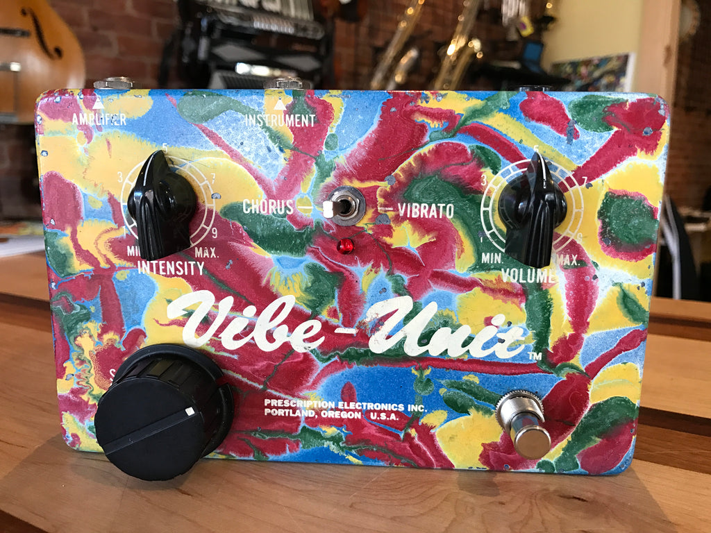 Prescription Electronics Vibe Unit Hand-painted Swirl