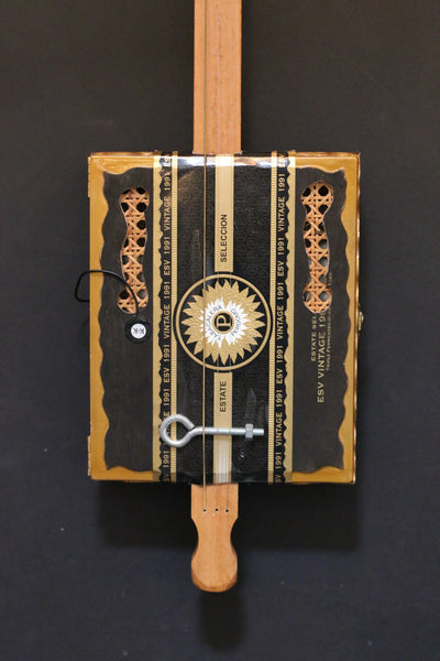 Cigar Box Banjo with K & K pickup