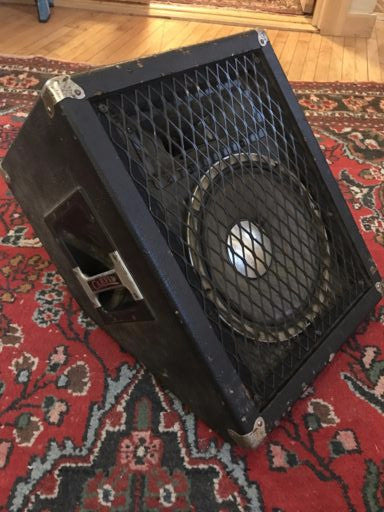Carvin XC1200A 1x12 Wedge Speaker Vintage 1970s