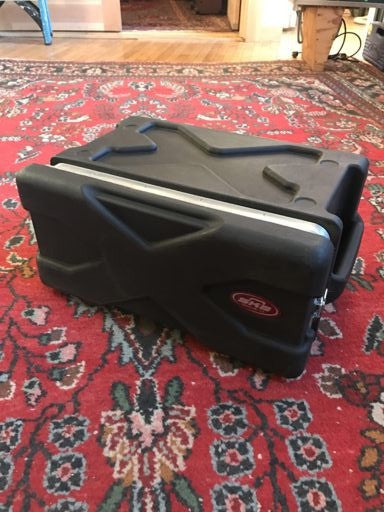 SKB Four Space Rack Road Case
