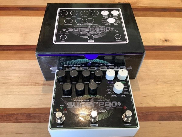 Electro-Harmonix Superego Plus Synth Engine Multi-Effect