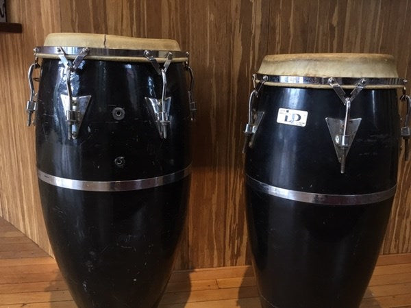 LP Conga Drums Pair