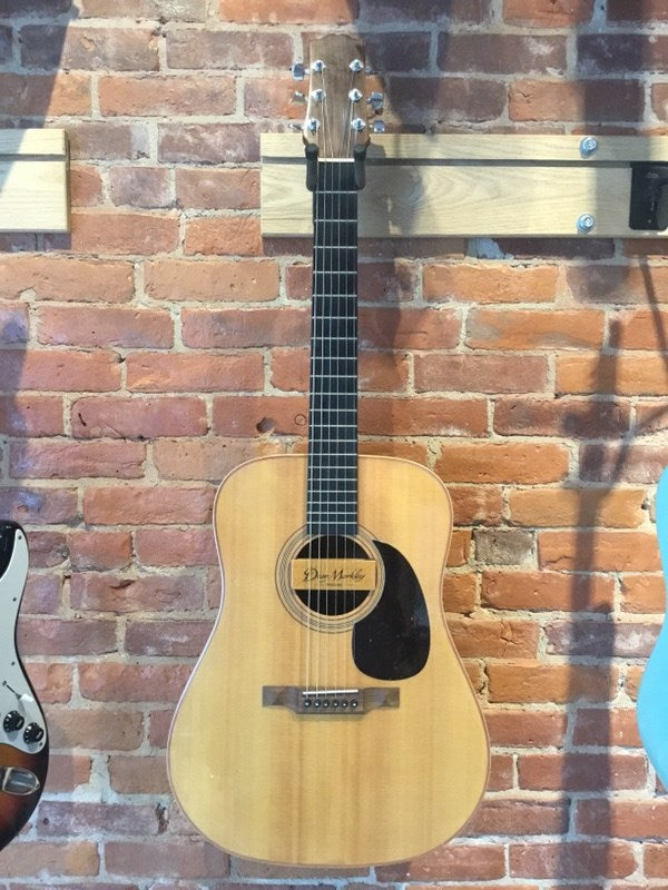 Custom Dreadnought Steel String Acoustic MIJ with Wide Classical Style Neck