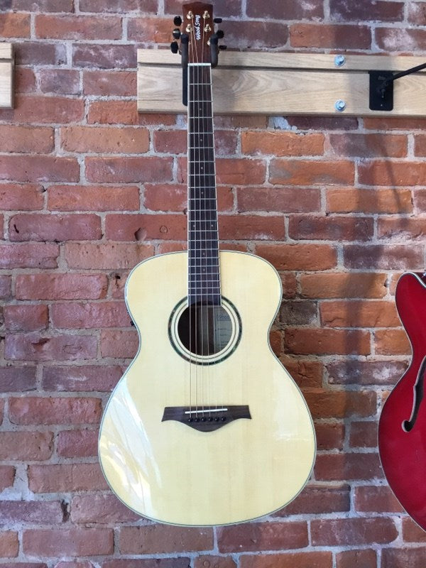 Wood Song OME-NA Acoustic Electric Guitar With Pickup