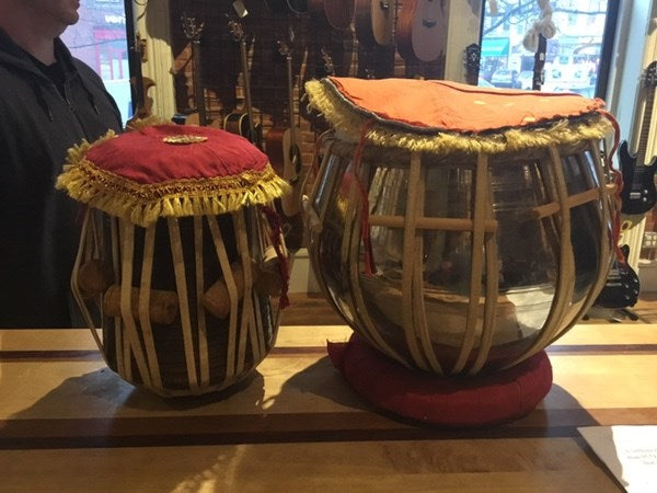 Indian Tablas with Case