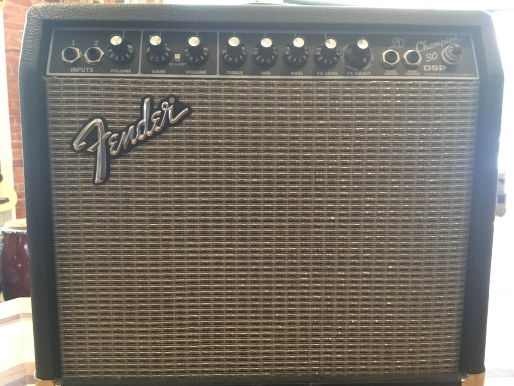 Fender Champion 30 DSP Amp For Parts Or Repair Only