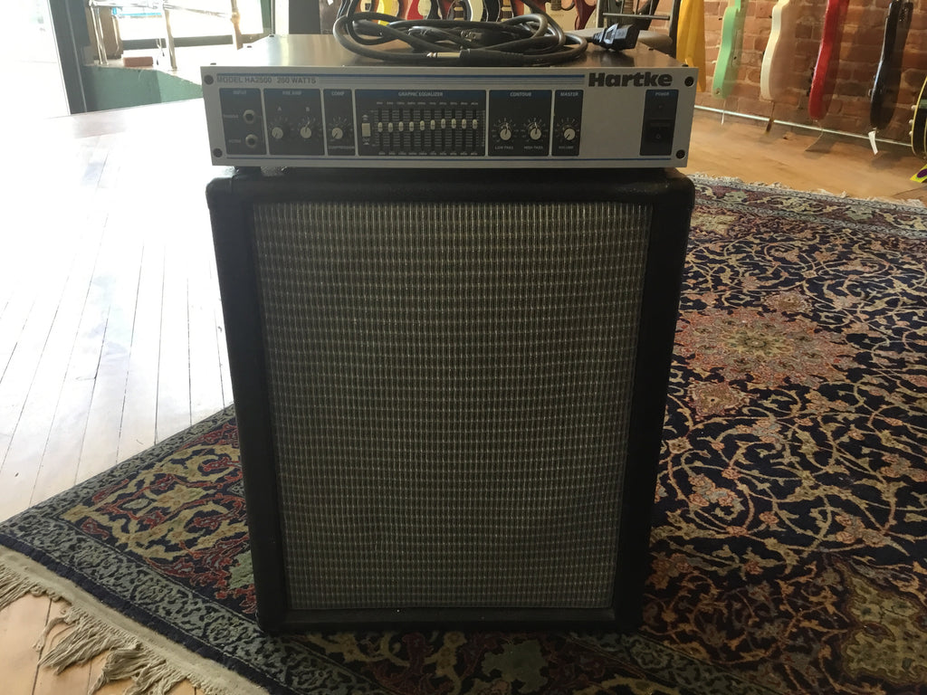 "Hartke ha2500 with homemade 12"" Celestion Speaker"