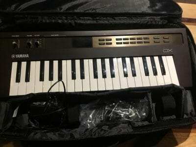 Yamaha Reface DX Keyboard With Case