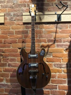 St. George Teisco Hollowbody Electric Guitar