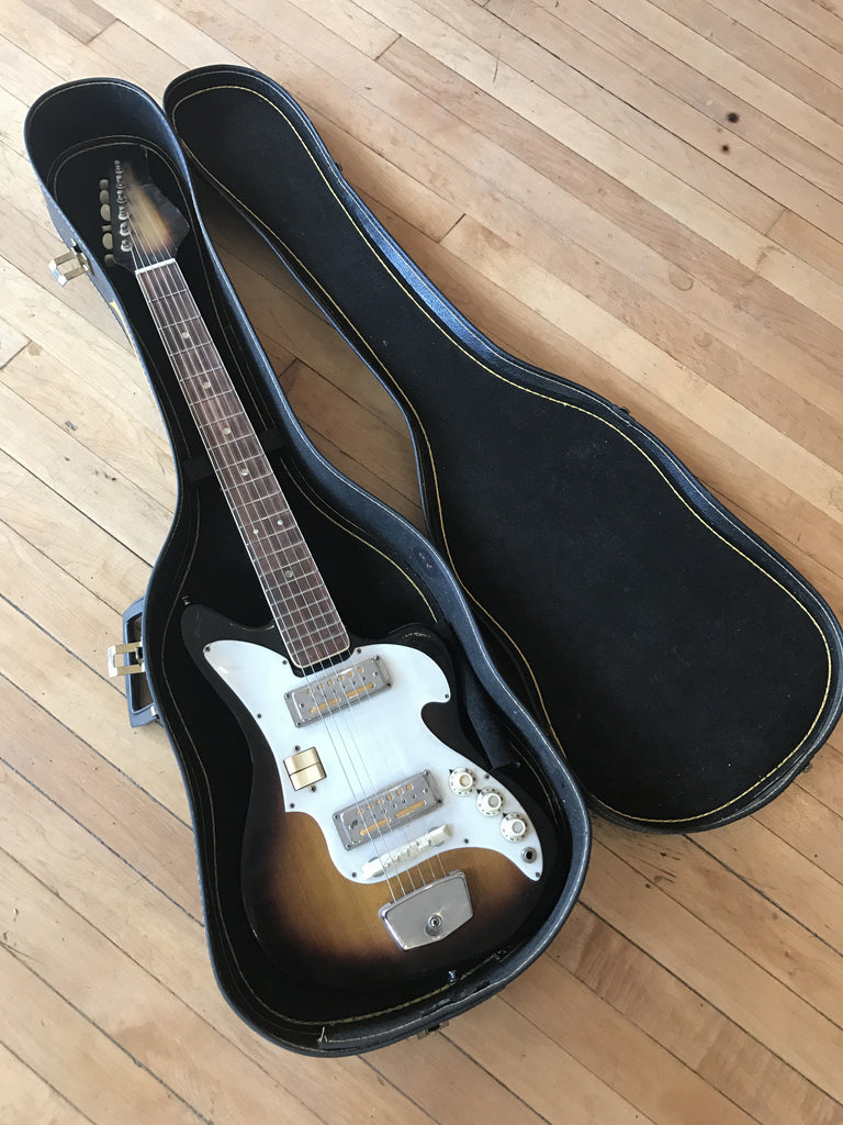 Teisco/Audition Goldfoil MIJ Electric 1960s w/ case
