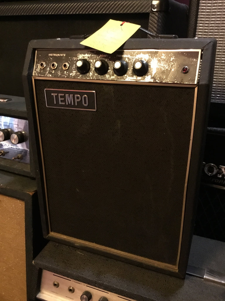 Tempo Vintage Japanese Solid State Practice Amplifier Teisco Made