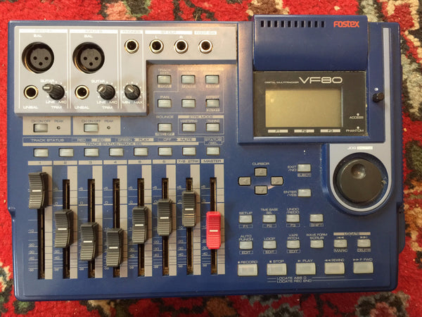 Fostex VF80 Digital Multitracker w/ case