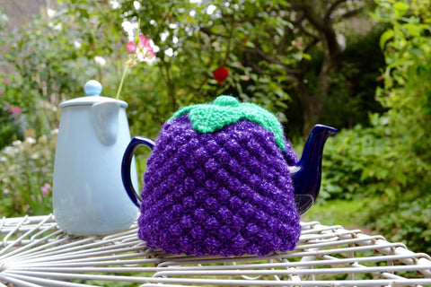 Blackberry  Tea Cosy Knitting Pattern