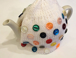 Button Box Tea Cosy Knitting Pattern