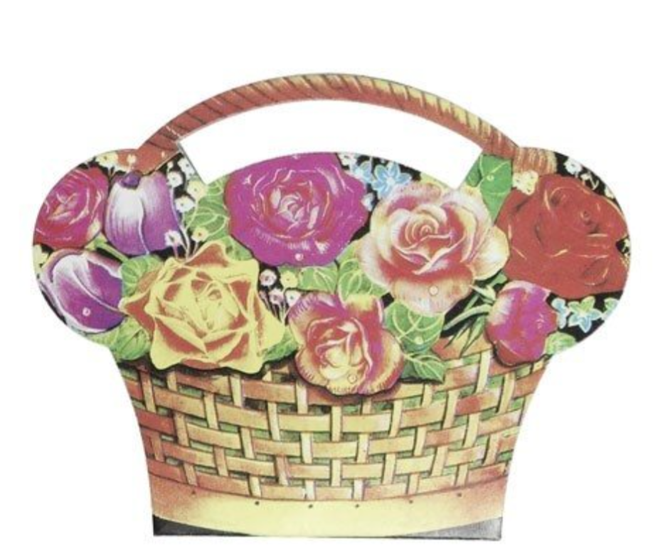Basket of Flowers Sewing Kit