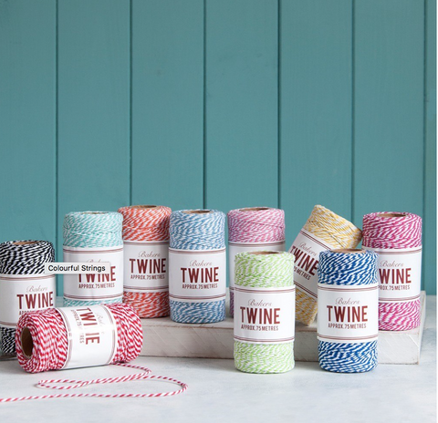 Baker's Twine in 10 colours