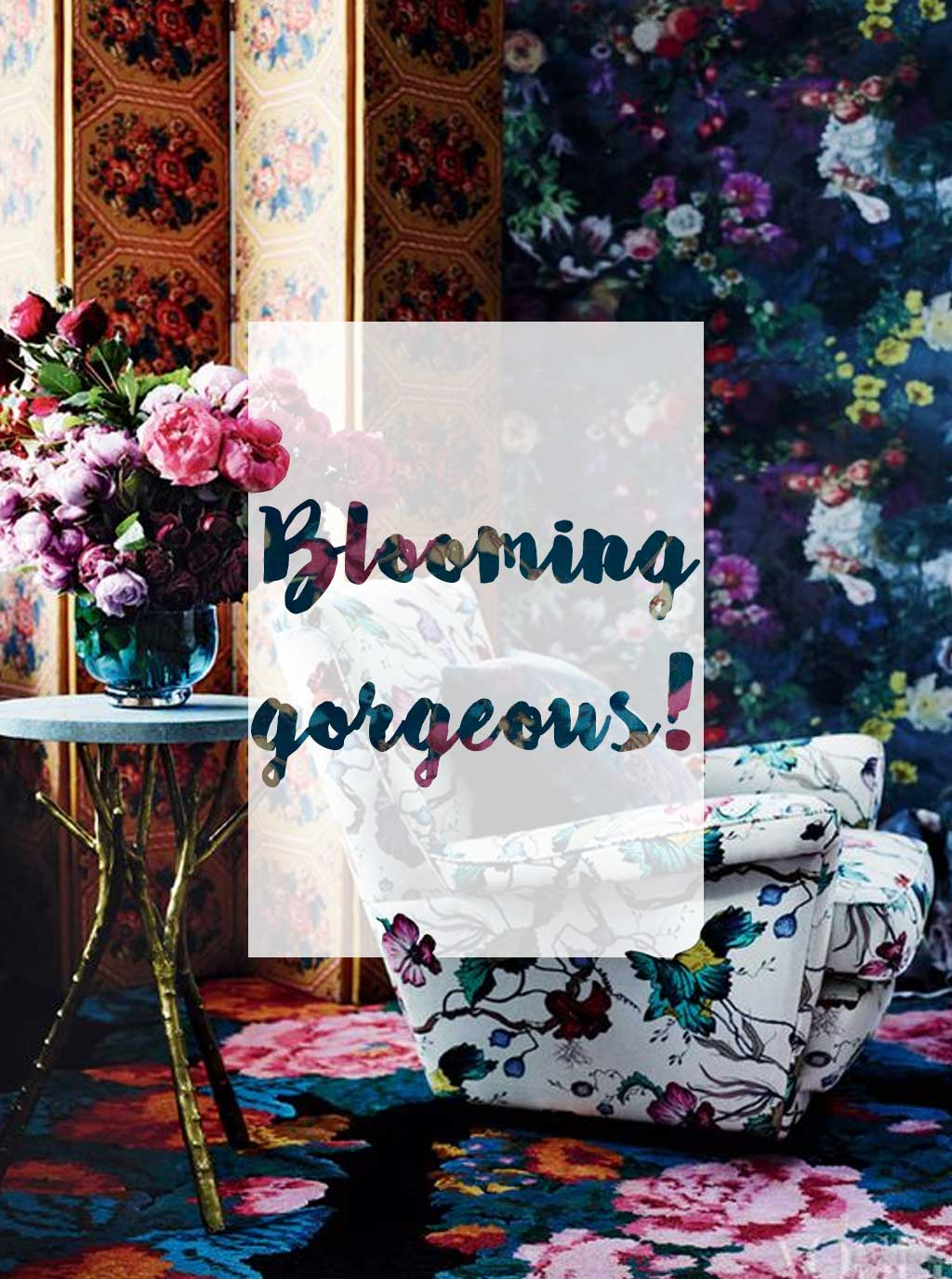 Blooming gorgeous, 3 ways to decorate with florals - Hutsly