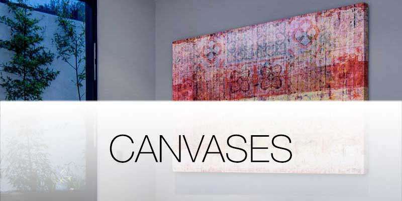 Canvases and art on Hutsly