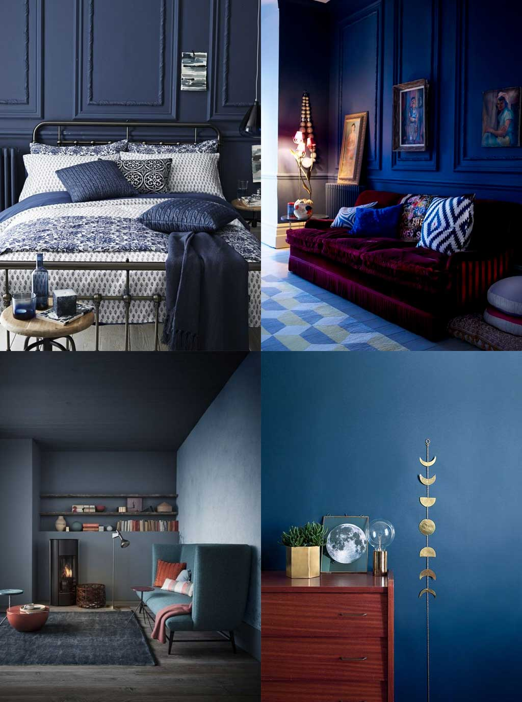 Colour Psychology in Interior Design - Blue Rooms - Hutsly Blog