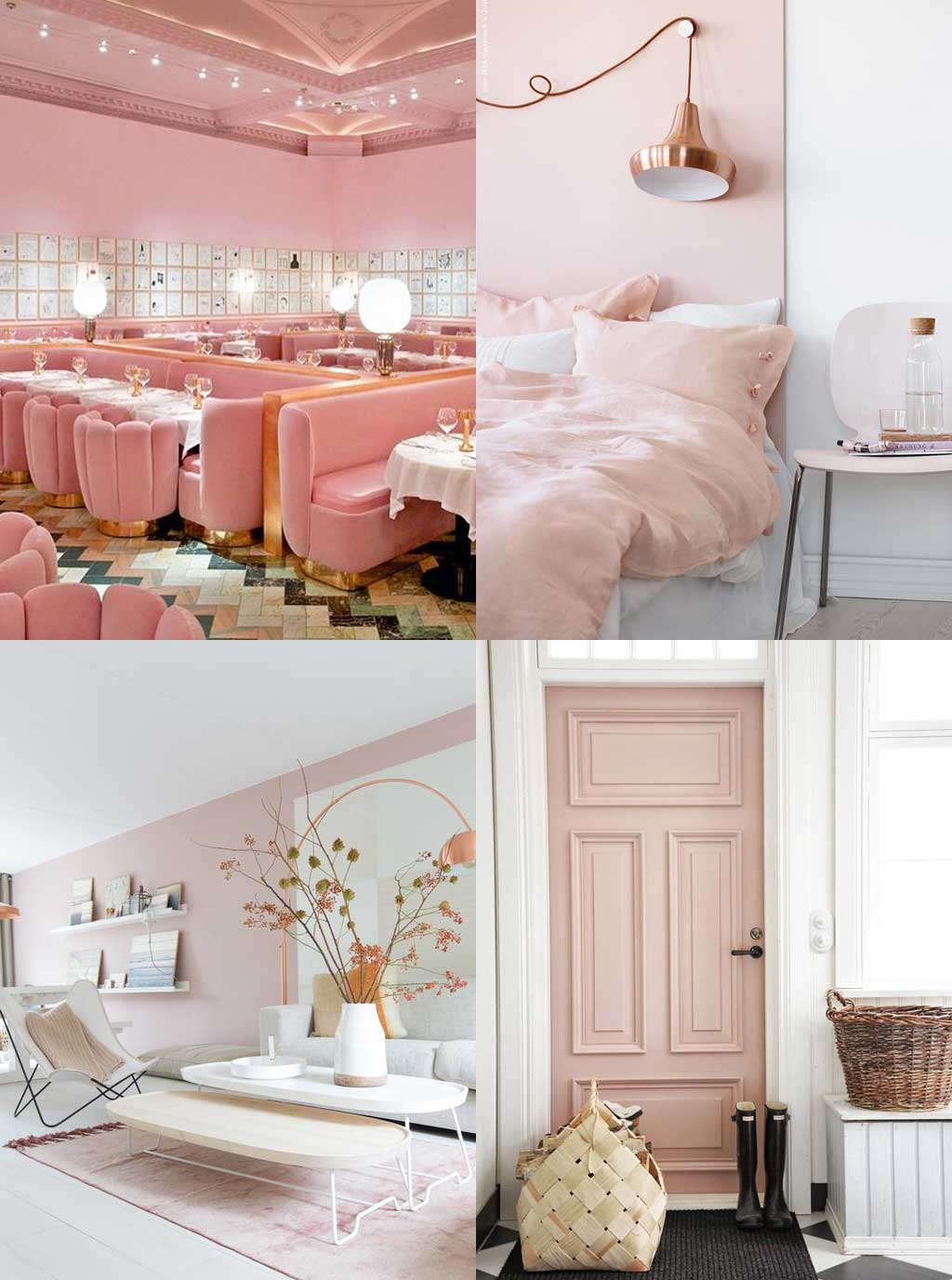 Colour Psychology in Interior Design - Pink Rooms - Hutsly Blog