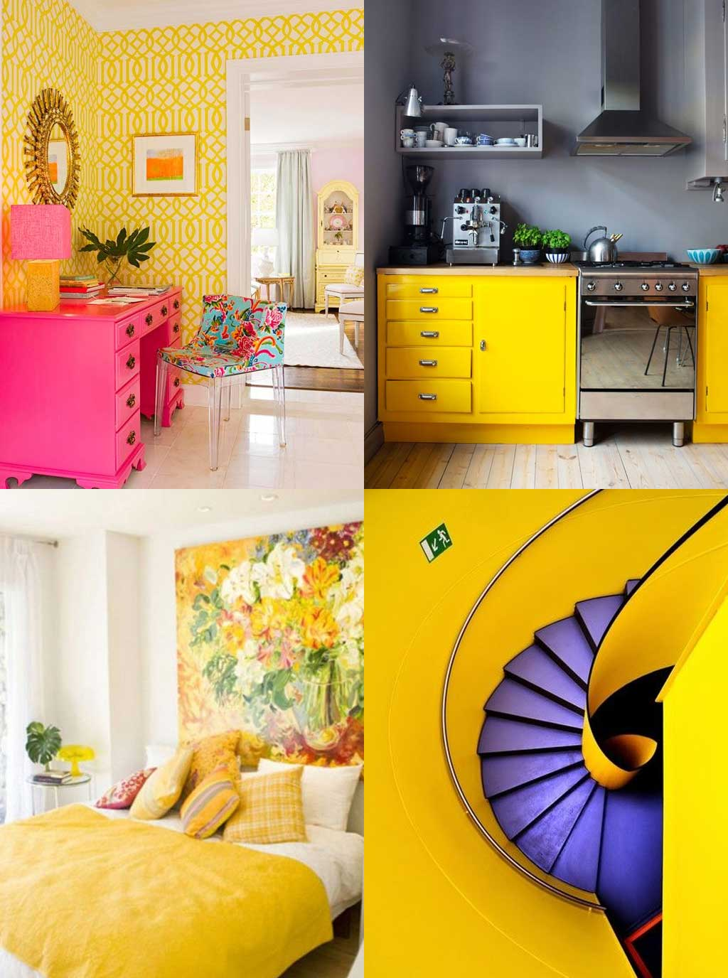 Colour Psychology in Interior Design - Yellow Rooms - Hutsly Blog
