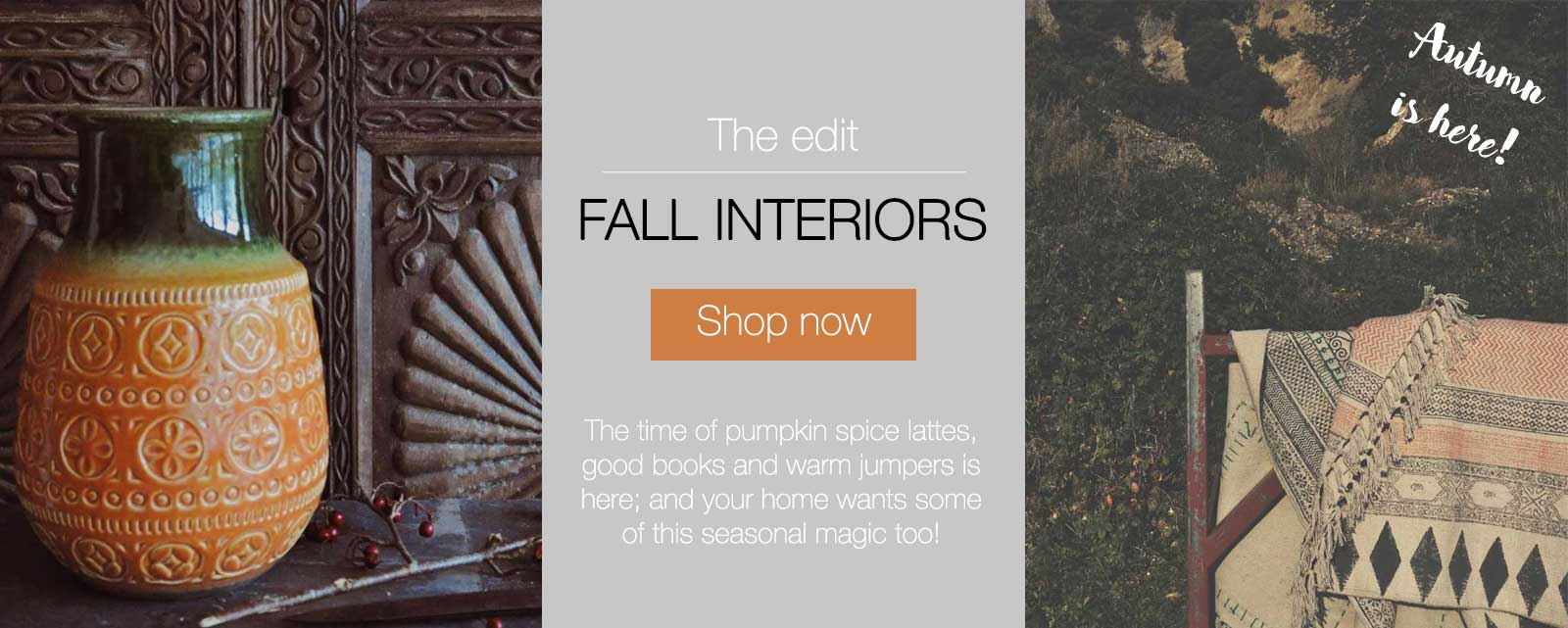 Fall Interiors on Hutsly