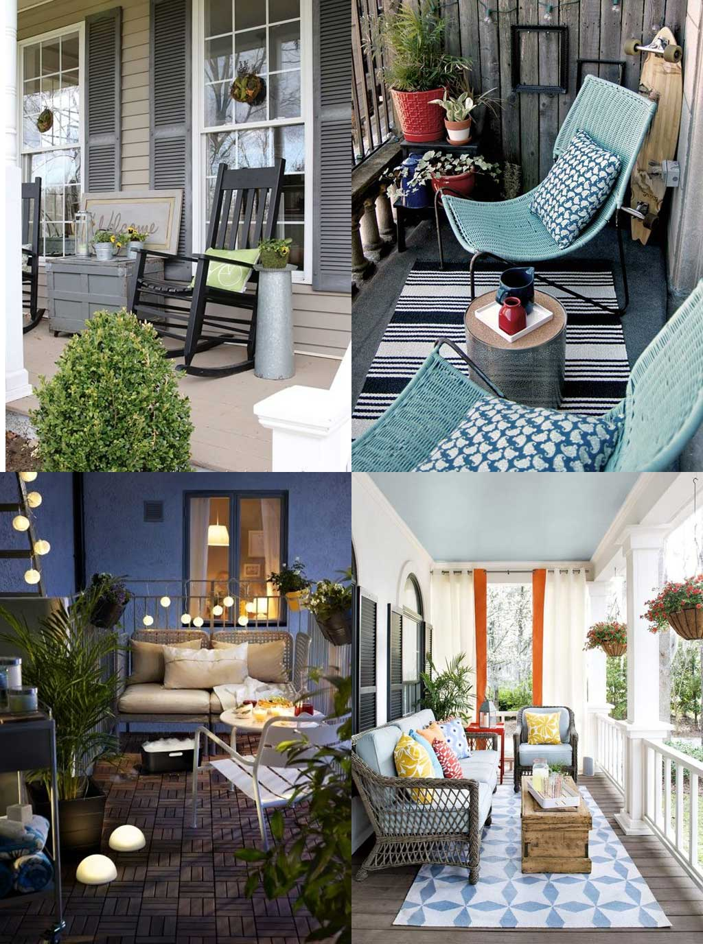 Front Porch and Balcony Design Ideas - Hutsly