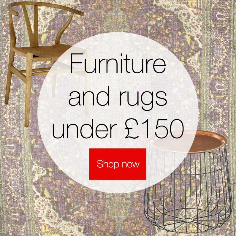 Furniture and Rugs Under 150 Pounds on Hutsly