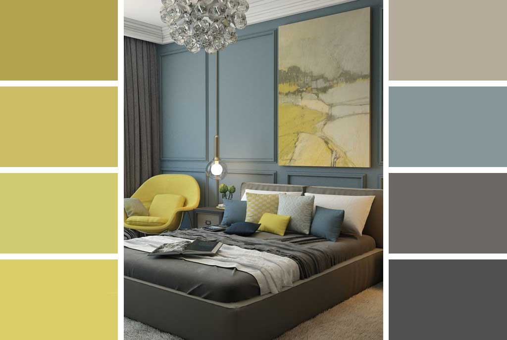 The Grey And Yellow Room Decorating Ideas Hutsly