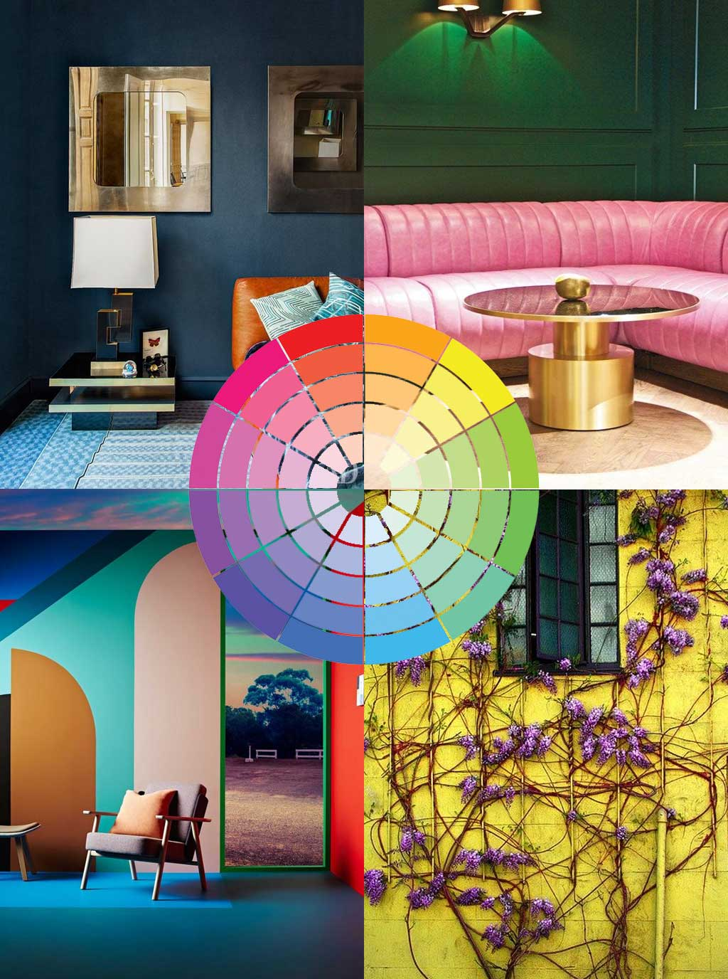 Interior Design Tip 04 - Complimentary Colours - Hutsly Blog