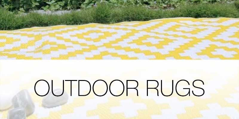 Outdoor rugs on Hutsly