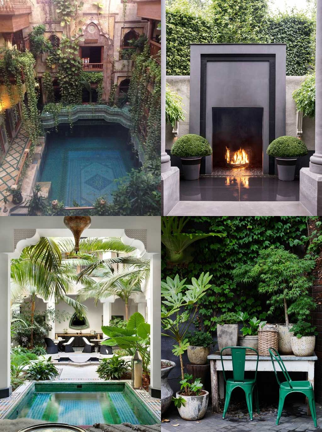 Patio and Garden Design Ideas on Hutsly - Pinterest Inspiration