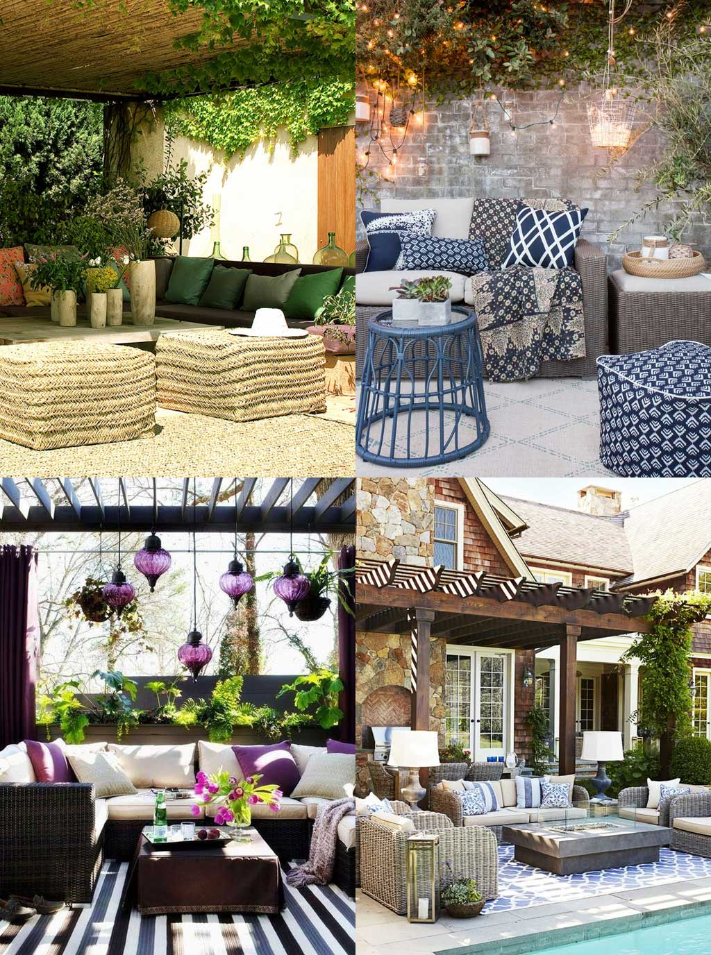 Social Patio Design Ideas - Hutsly