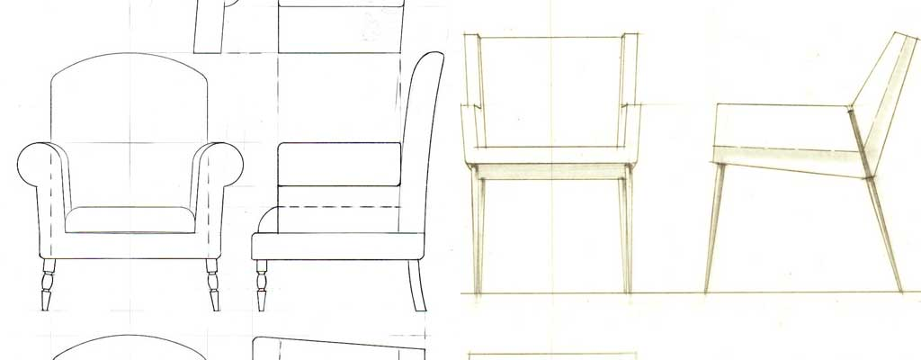 Drawing - Choosing the perfect armchair - 7 steps for the ultimate guide - Hutsly