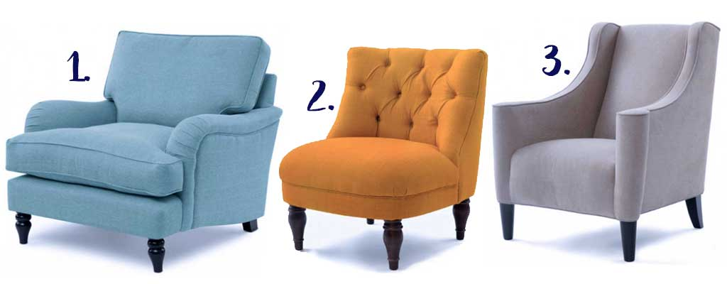 Hutsly DIY Project - Colorful Legs Furniture Update - Chairs Suggestions