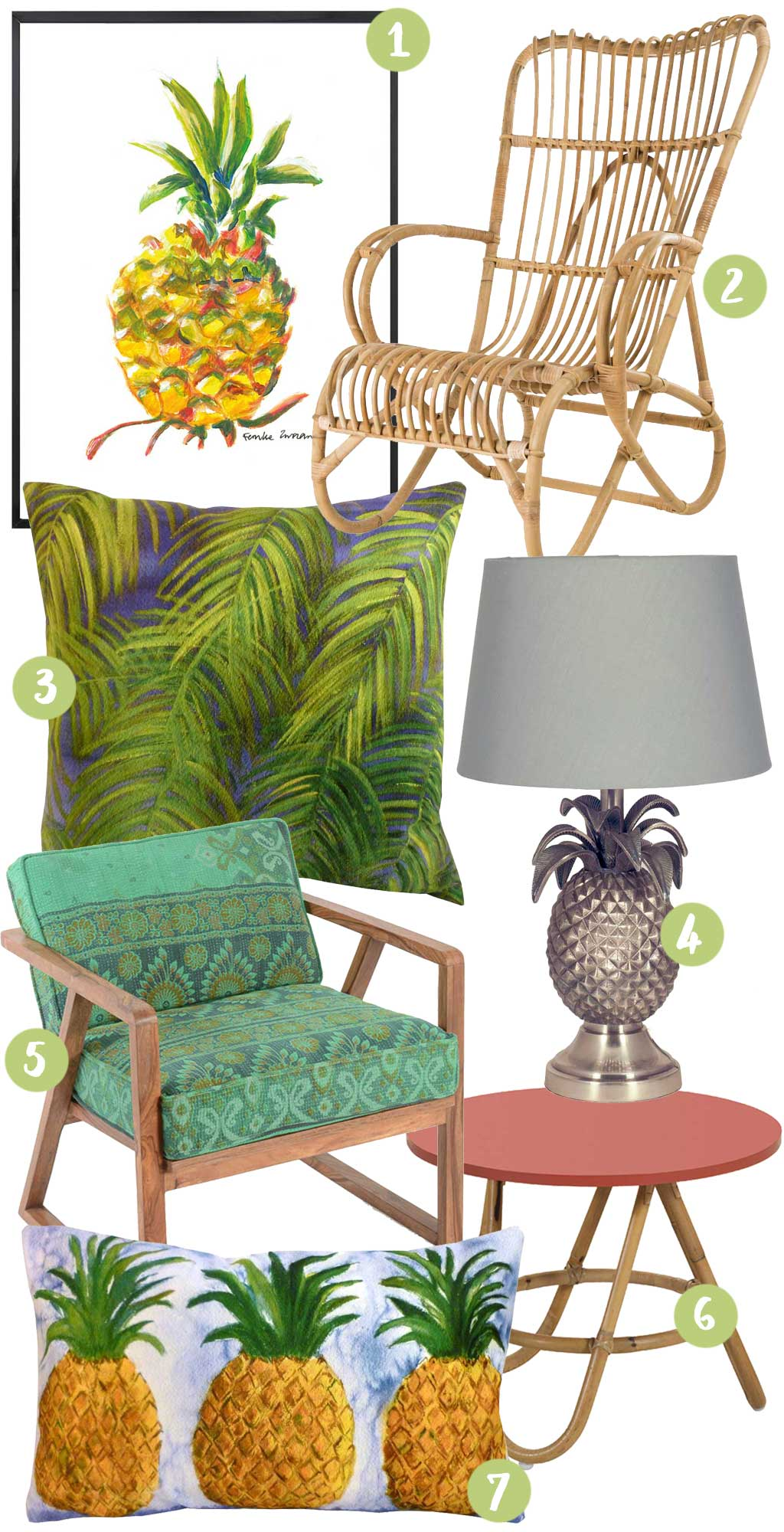 A Tropical Home's Essentials - The Shopping List - Hutsly Blog