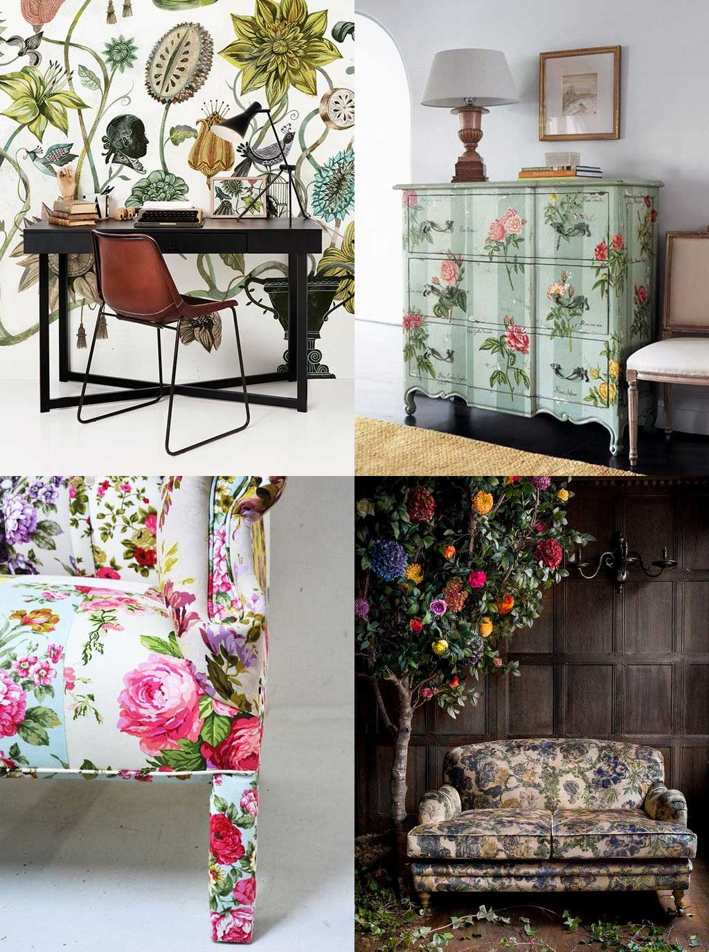 The Stunner - Blooming Gorgeous - 3 Ways to Decorate with Florals - Hutsly