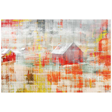 Red Barn Canvas