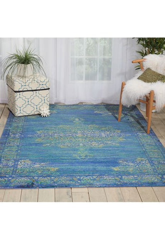 Morroccan accent rug