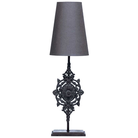 Shelley | Tall Ornate Table Lamp