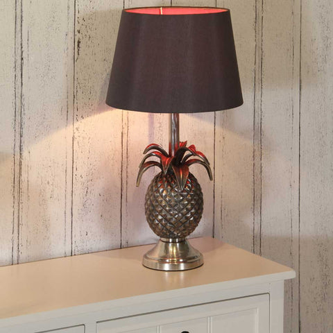 Chelmsford Antique Silver Pineapple Table Lamp Base