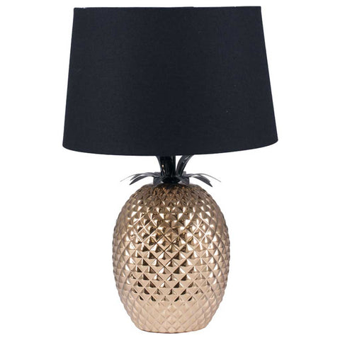 Gold Pineapple Table Lamp