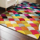 Multicolour Jive Spectrum Rug
