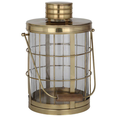 XL Antique Brass Shore Lantern