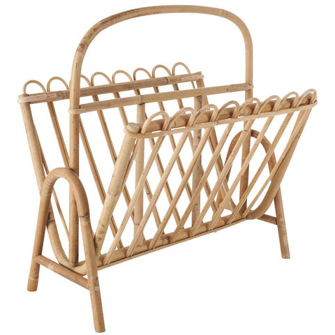 Ives | Rattan Magazine Rack