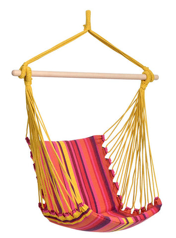 colorful hangng chair
