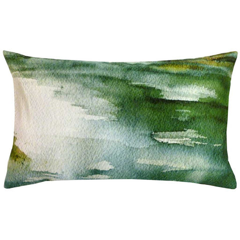 Rectangular Flot Abstract Cushion