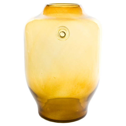Jasmine | Bohemian handmade | Glass Vase | Honey