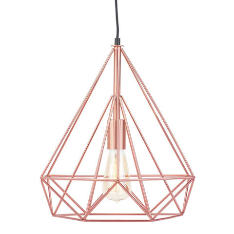 Antwerp Copper Finish Iron Pendant Light