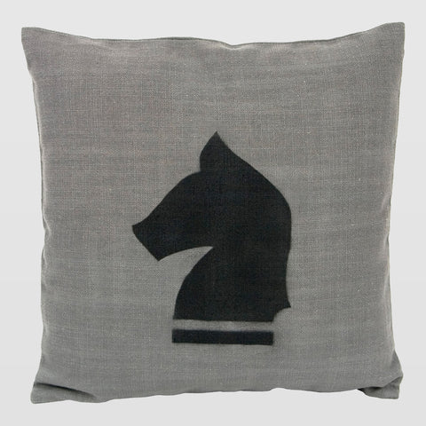 Chess Horse decorative cushion